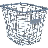 Basket Metal Small Blue - Stapelgoed