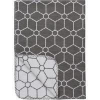 Ledikantdeken Black Label Honeycomb Grijs 120x150cm - Meyco