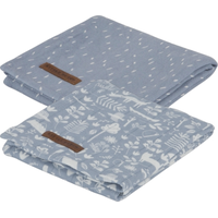 Little Dutch Swaddle Doeken - Adventure Blue