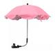 Parasol - Roze - Wit (UL)