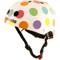 Kiddimoto Helm Pastel Dotty M