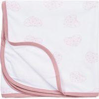 Multidoek Geometric Heart Warm Pink - Meyco