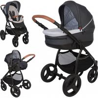 Bo Jungle Kinderwagen 5-in-1 - Black