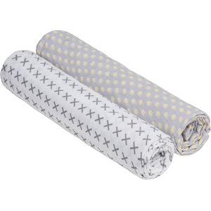 Lässig Swaddle & Burp Blanket X- Large - Riddle