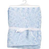 Babydan Wiegdeken Dobbelt Fleece - Blauw