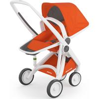 Greentom Upp Reversible Wit-Oranje