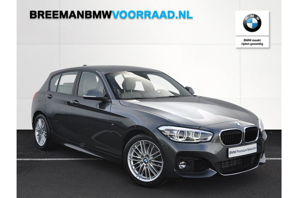 bmw 118i high executive m sport aut occasion. Black Bedroom Furniture Sets. Home Design Ideas