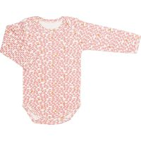 Trixie Romper Lange Mouw Mt 74/80 - Pebble Pink