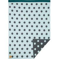 Lässig Wiegdeken Knitted Blanket Little Chums Stars - Light Mint
