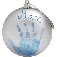 Baby Art Kerstbal My Christmas Fairy - Silver