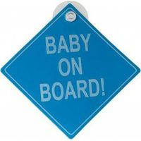 Baby On Board Bordje - Blauw