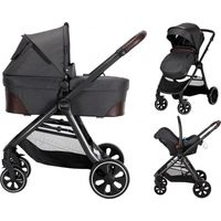 X-Adventure X-Line V2 Kinderwagen incl. Autostoel - Domino Dark