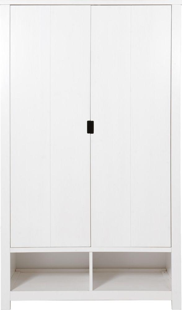 Bopita Hanglegkast 2 Deurs Xl Basic Wood White Wash Bij De