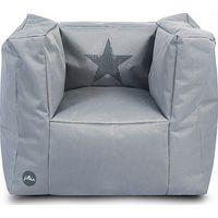 Jollein Kinderfauteuil Beanbag Faded Star - Grey