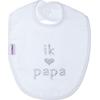 Slab Met Tekst 'Ik (hartje) Papa'