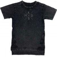 KMDB Shirt Korte Mouw Maat 74 Yankee - Zwart