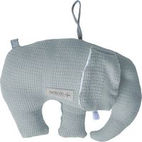 Bamboom Decoratiekussen New Vintage Olifant - Blauw
