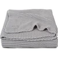 Jollein Deken 75x100cm Heavy Knit Light Grey