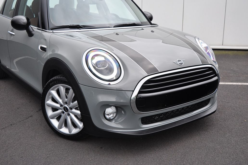 MINI Cooper 5-deurs Chili Aut. Chester Malt Brown leer