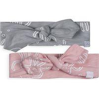Jollein Haarband - Octopus Pink & Grey 2 Pack