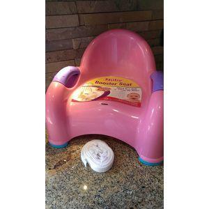 Nuby Booster Seat - Roze (UL)