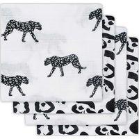 Jollein Hydrofiel Luier Leopard - Black White