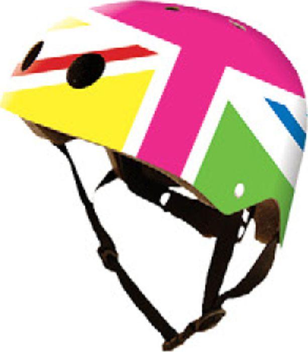 Kiddimoto Helm Union Jack Rainbow S