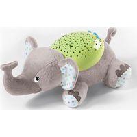 Summer Babyprojector Slumber Buddies - Olifant Grijs