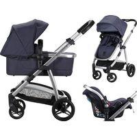 Born Lucky Elegance Kinderwagen incl. Autostoel - Blue
