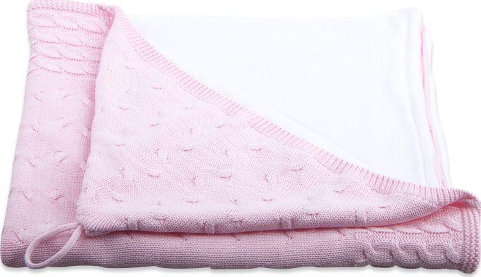 e77e6517310 Baby's Only Omslagdoek Kabel Chenille - Baby Roze