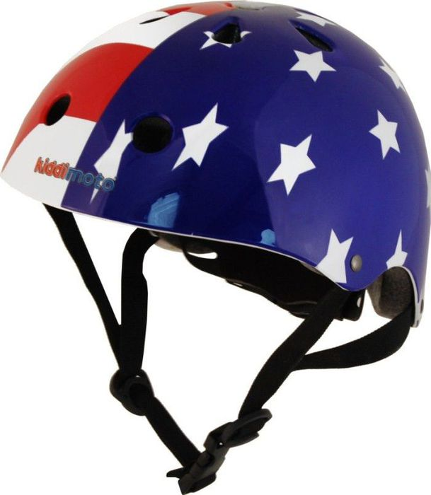 Kiddimoto Helm USA Flag S