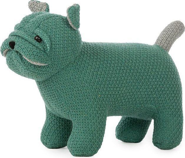 Vaco Dog Small Gebreid - Green