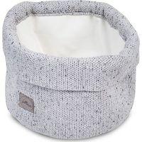 Jollein Mandje Confetti Knit - Grey