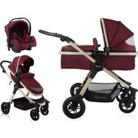 Baninni Kinderwagen Ayo BN1144 - Misty Red
