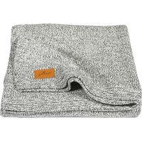 Deken 75x100cm Stonewashed Knit Grey - Jollein