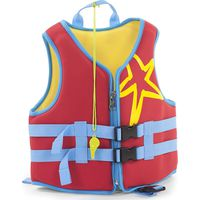 Neoprene Zwemvest Red 2-3 Jaar - Childhome