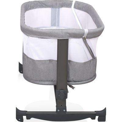 Baninni Bed Side Crib Nesso - Gray