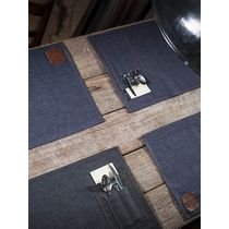 placemats denim