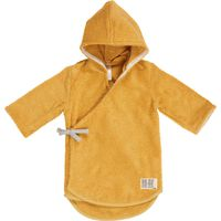 Koeka Baby badjas Dijon Maat 74/80 - Ochre