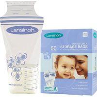 Lansinoh Moedermelk Bewaarzakjes (50 Stuks)