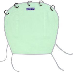 Dooky Universal Cover Uni Reversible Zonnekap - Mint/Grey