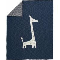 Fresk Gebreide Wiegdeken - Giraf Indigo
