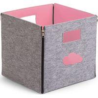 Childhome Vilten Plooibare Opbergbak - Soft Pink (UL)