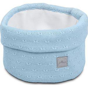 Jollein Mandje Soft Knit - Soft Blue