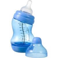 Difrax S-Fles Breed 200 ml - Blauw (UL)