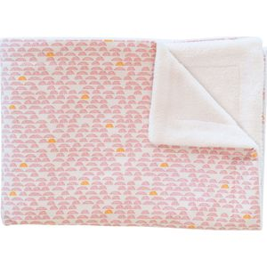 Trixie Fleece Deken 100x150cm - Pebble Pink