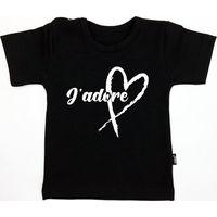KMDB Shirt Korte Mouw Maat 86 J'adore - Zwart