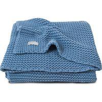 Jollein Deken 75x100cm Heavy Knit Blue
