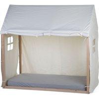 Childhome Cover voor Bedframe Huis 70x140 - Wit