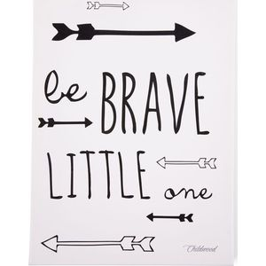 Childhome Schilderij  30x40 - Be Brave Little One